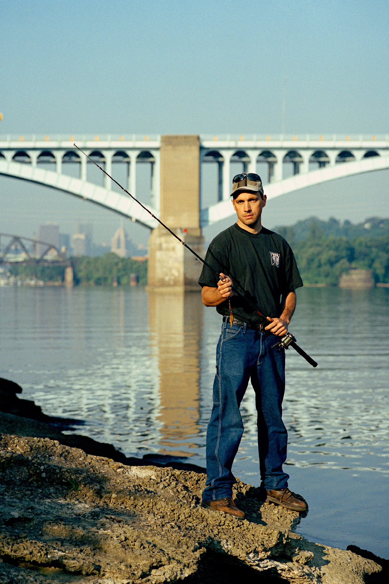 Tim Kaulen, Artist and Urban Fisherman